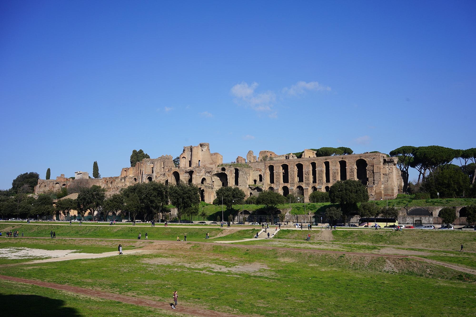 Palatino Circo Massimo
