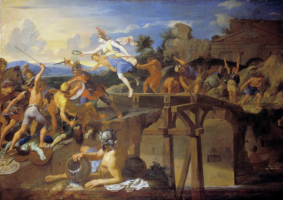 Ponte Sublicio dipinto