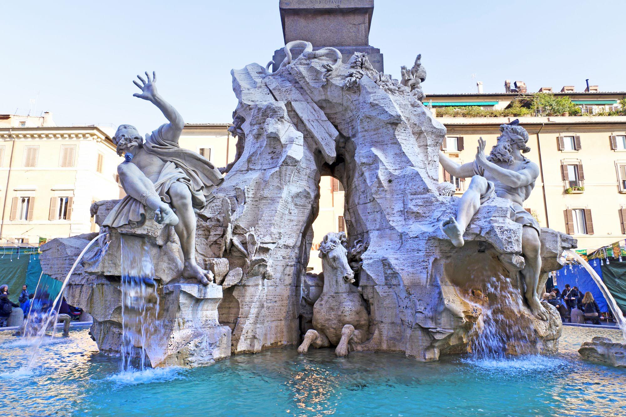Fontana dei Quattro Fiumi Bernini