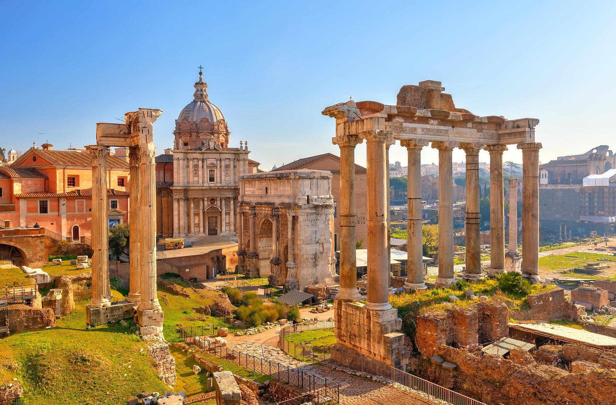 arco settimio severo foro romano