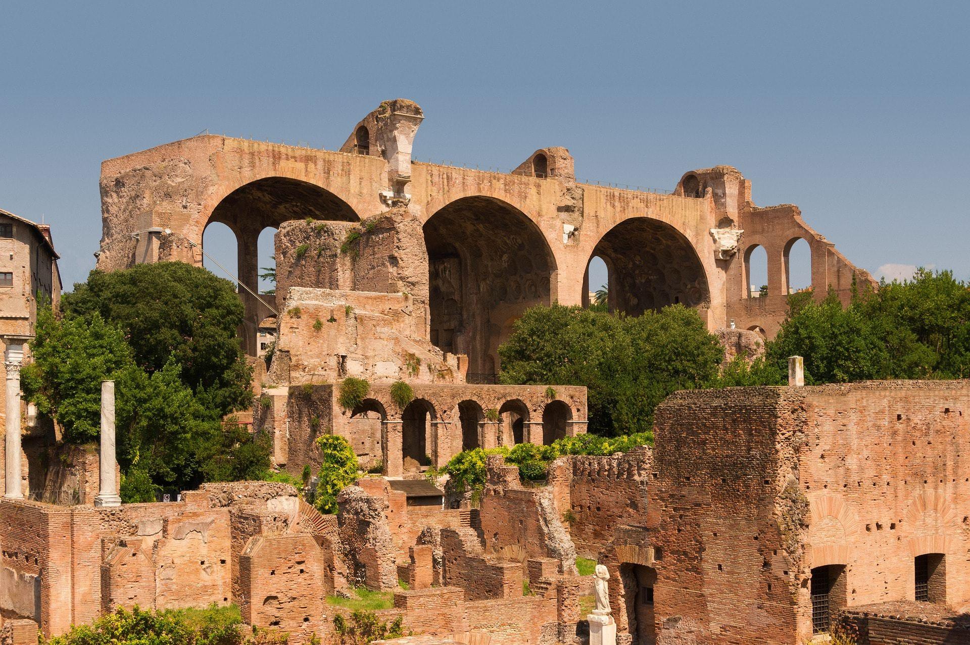 Basilica di Massenzio Roma Fori