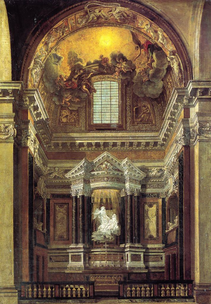 Cappella Cornaro Estasi di Santa Teresa