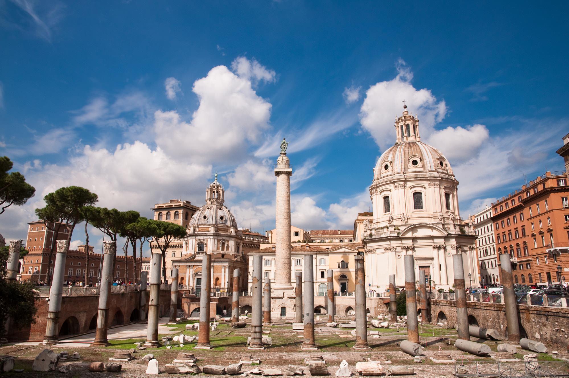 colonna traiana mercati roma