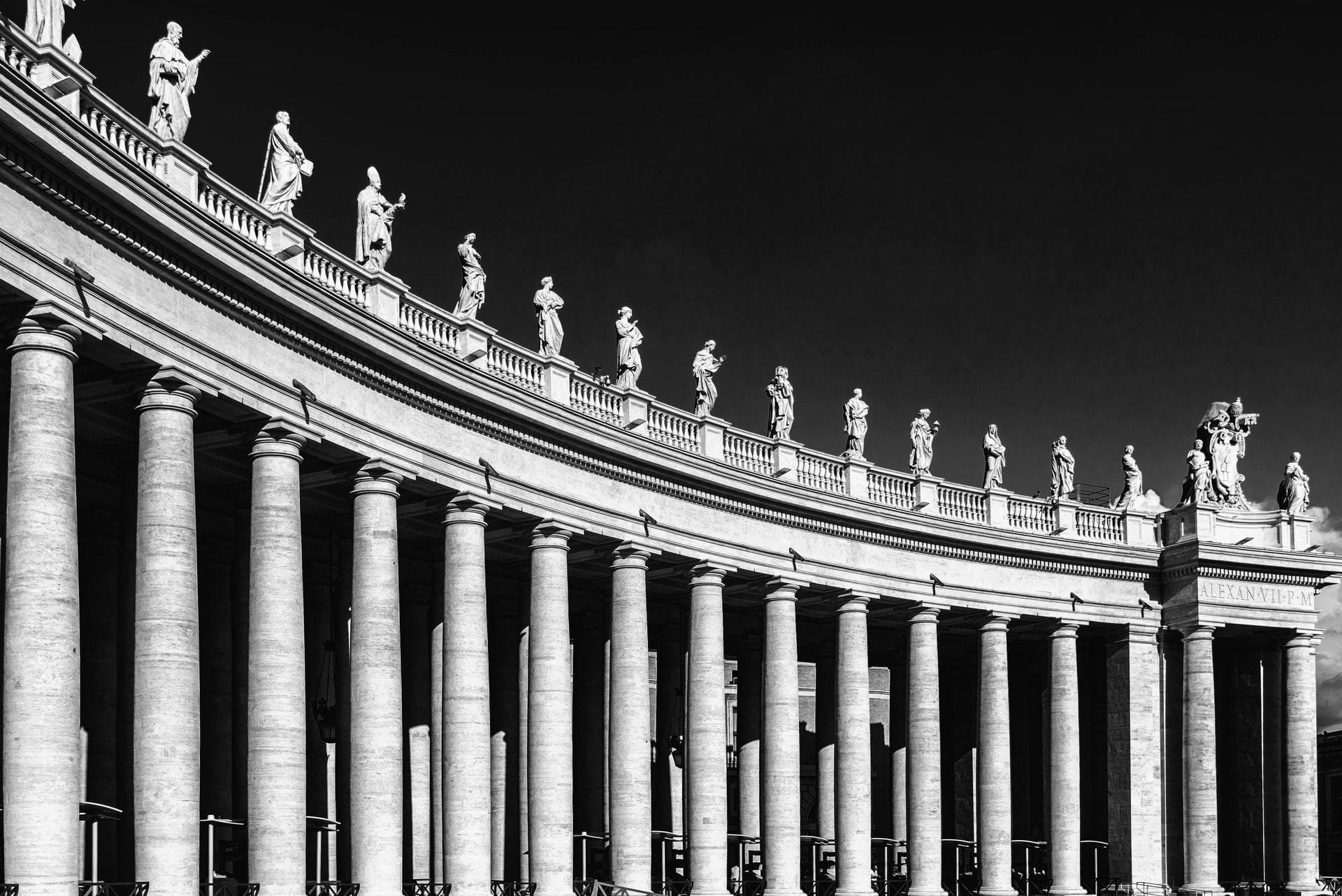 Colonnato Basilica di San Pietro