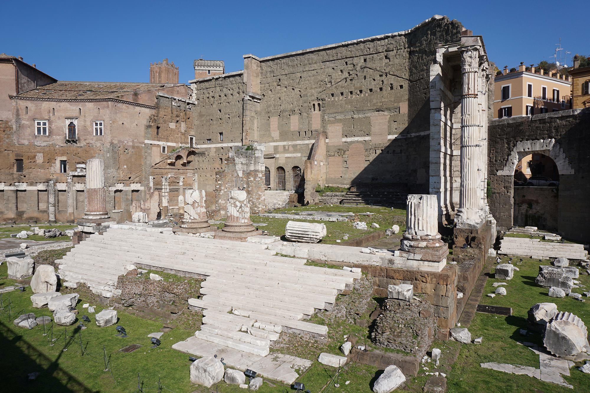 foro augusto romano