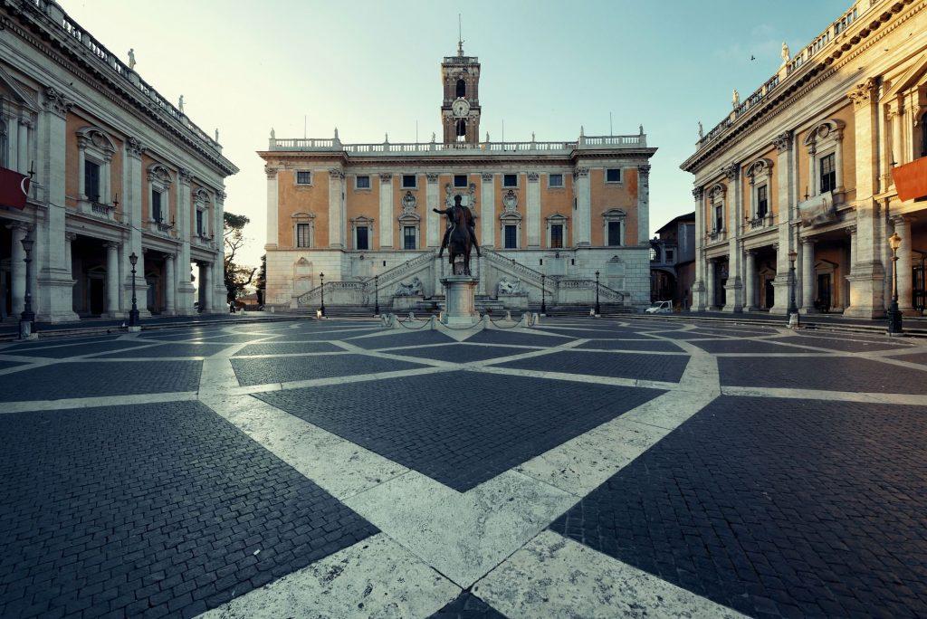 Piazza del Campidoglio Roma Gratis