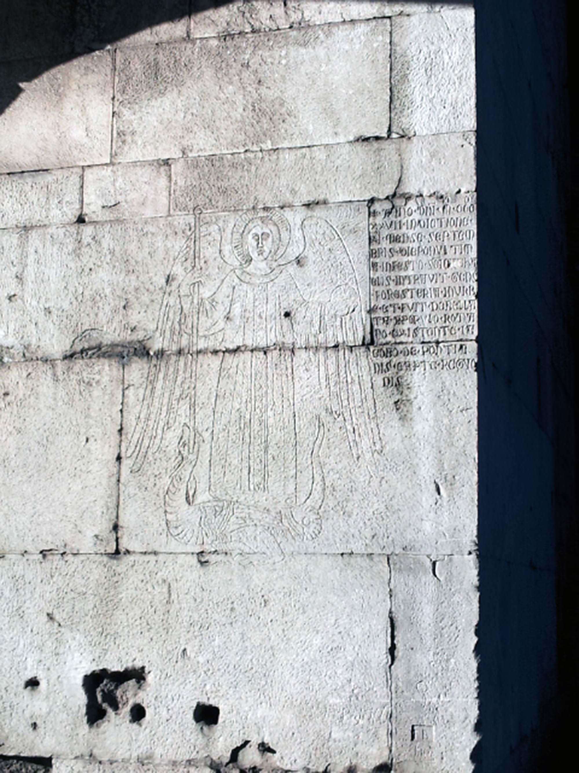 Dettaglio Iscrizione Porta San Sebastiano