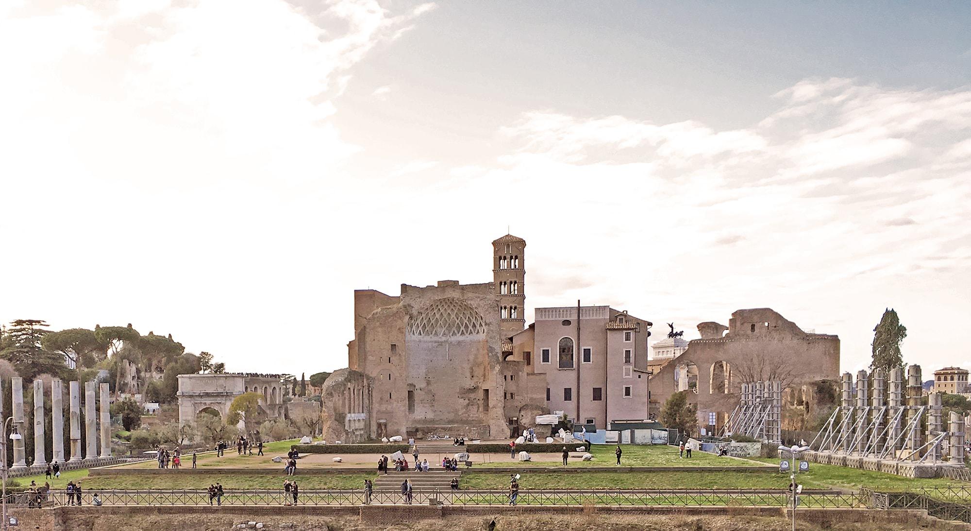 Tempio di Venere e Roma