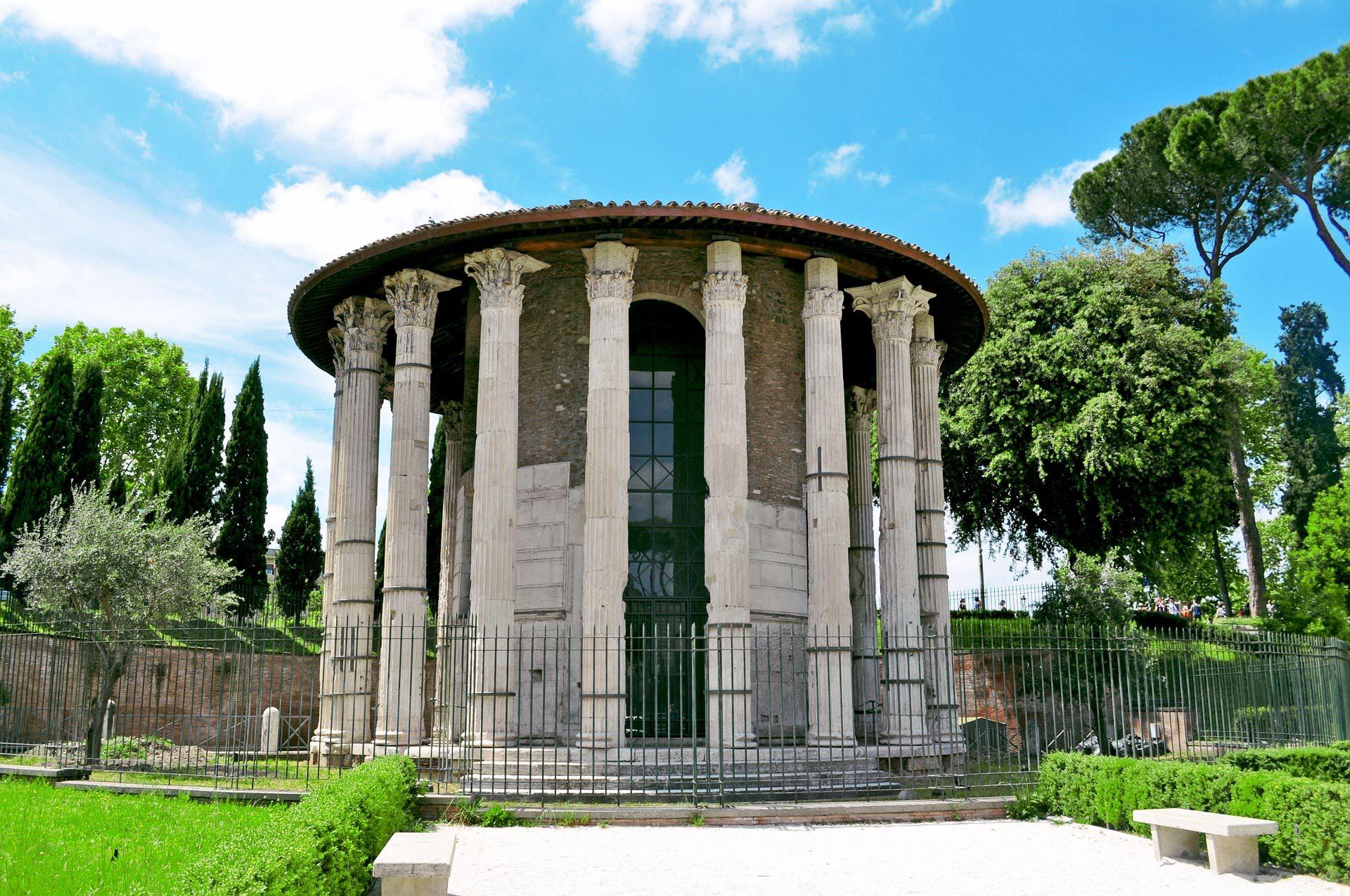 tempio ercole vincitore olivario