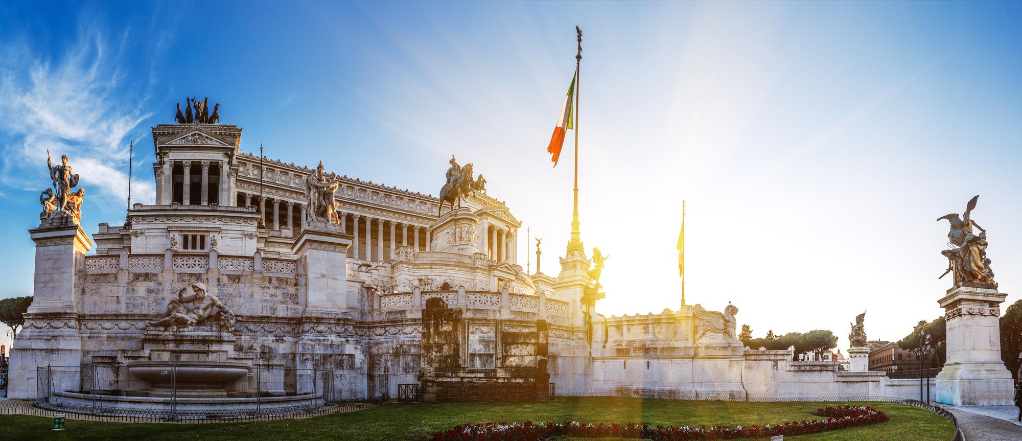 Altare della Patria Monumento Vittorio Emanuele Vittoriano