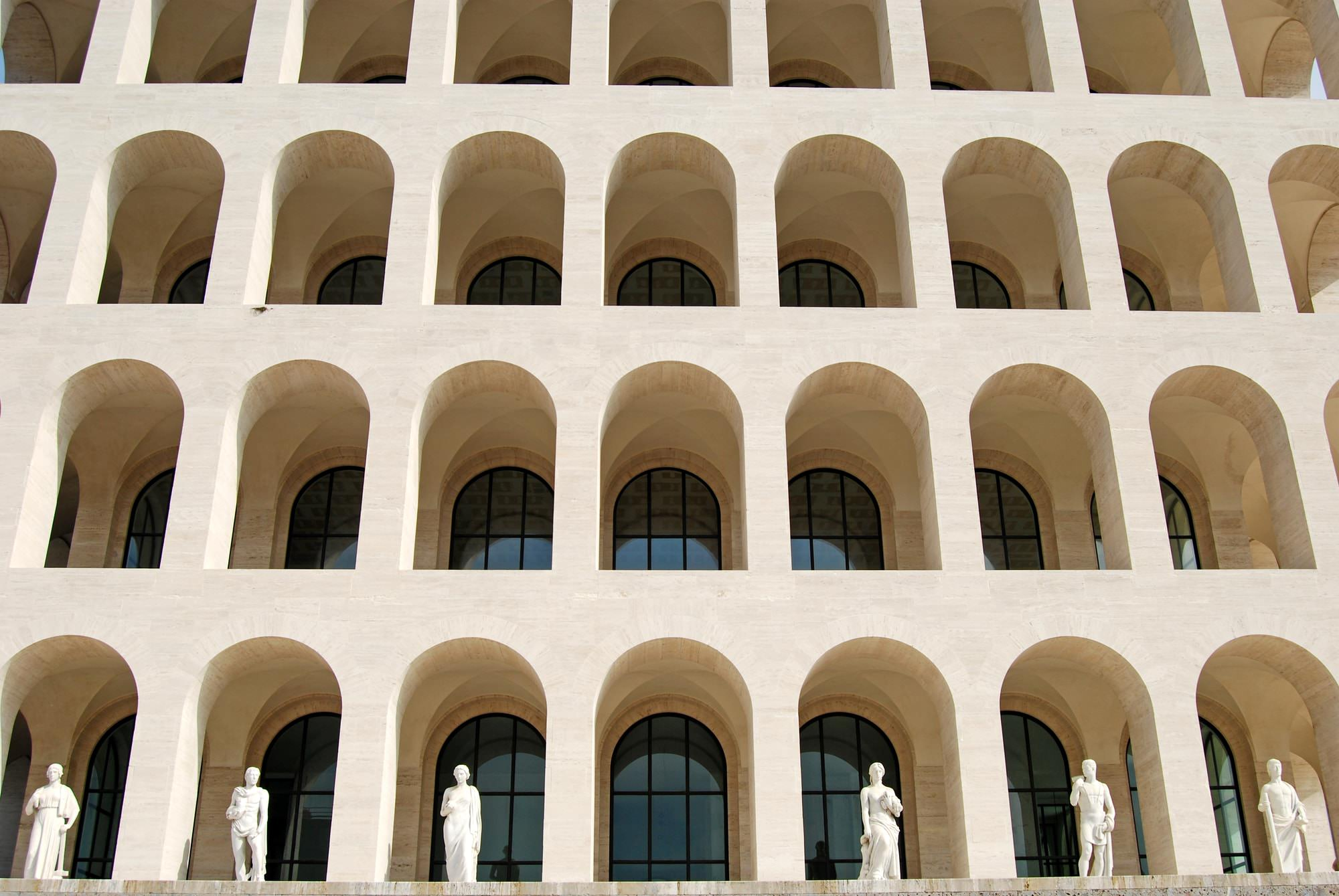 Palazzo della Civiltà Italiana dettaglio
