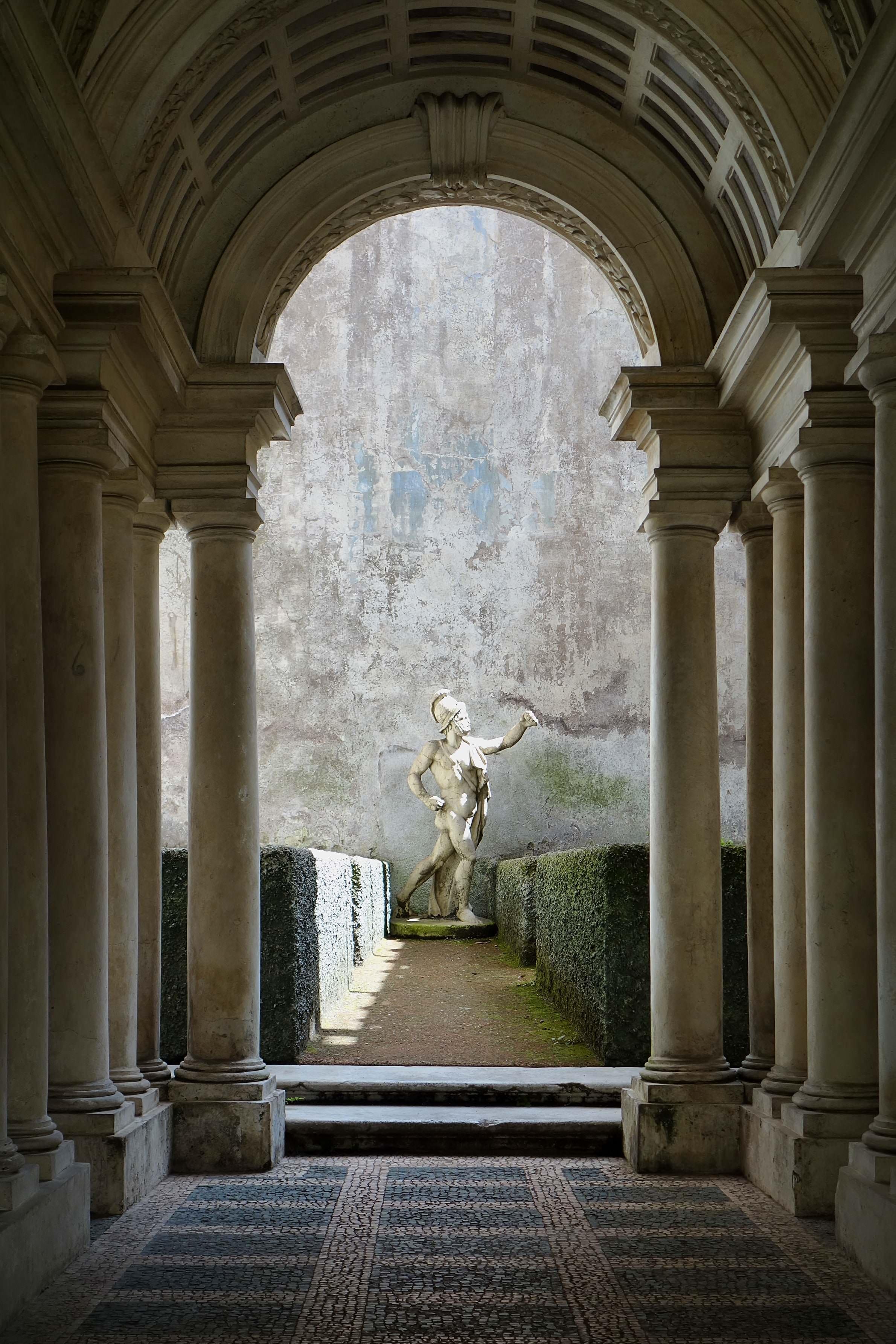 Palazzo Spada e galleria prospettica