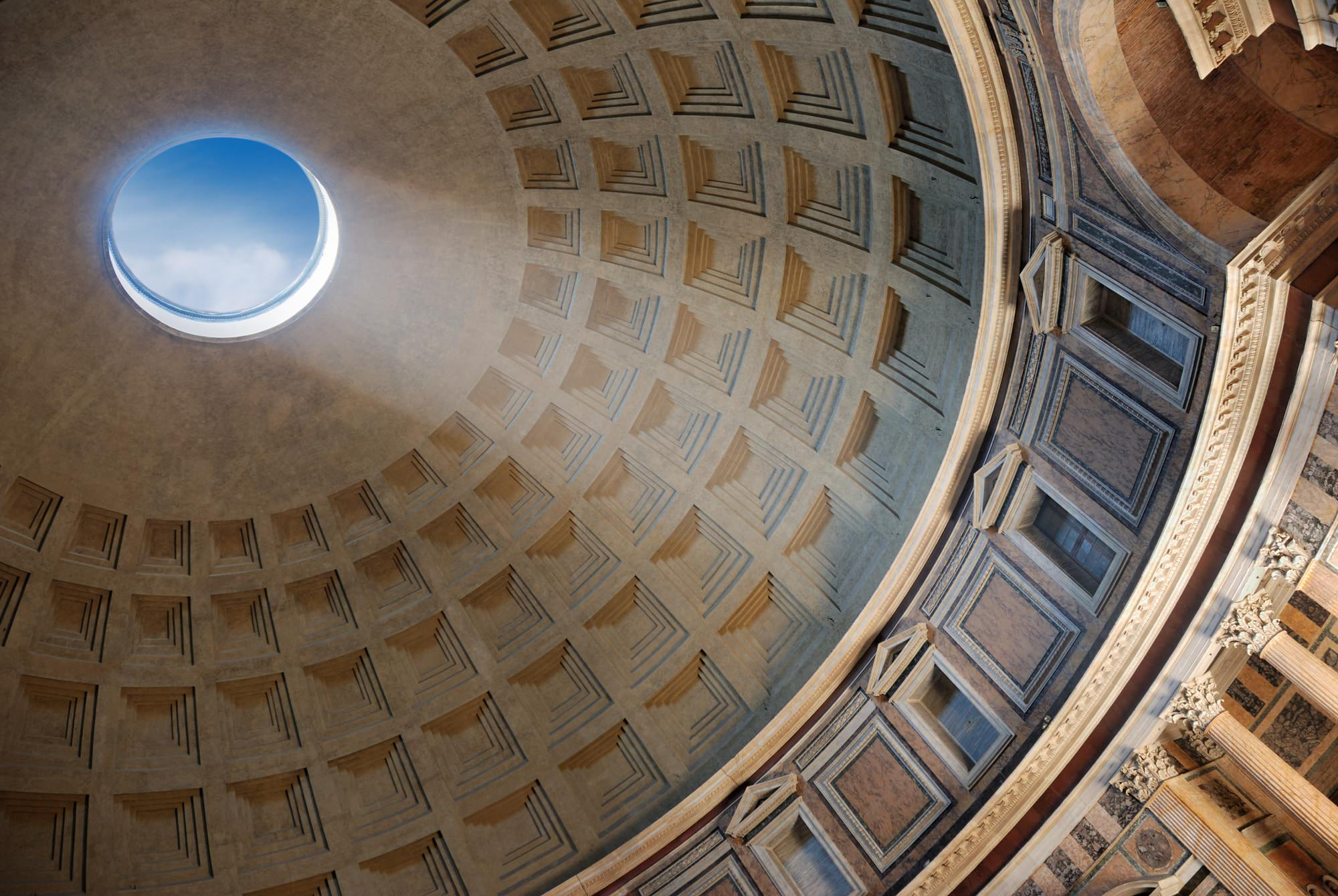 Pantheon cupola