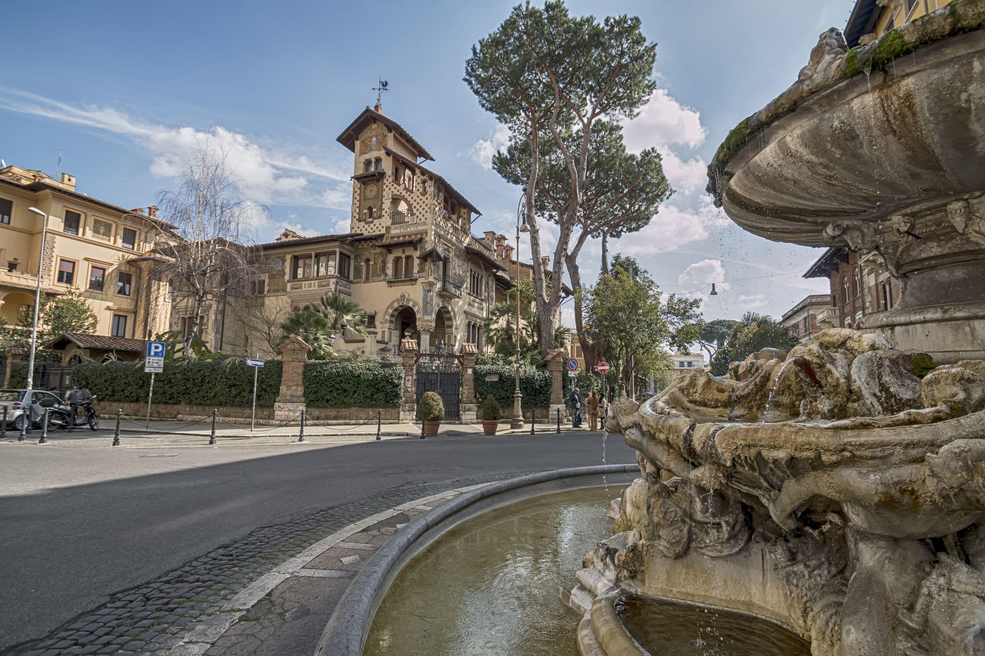 Quartiere Coppedè Villa Torlonia