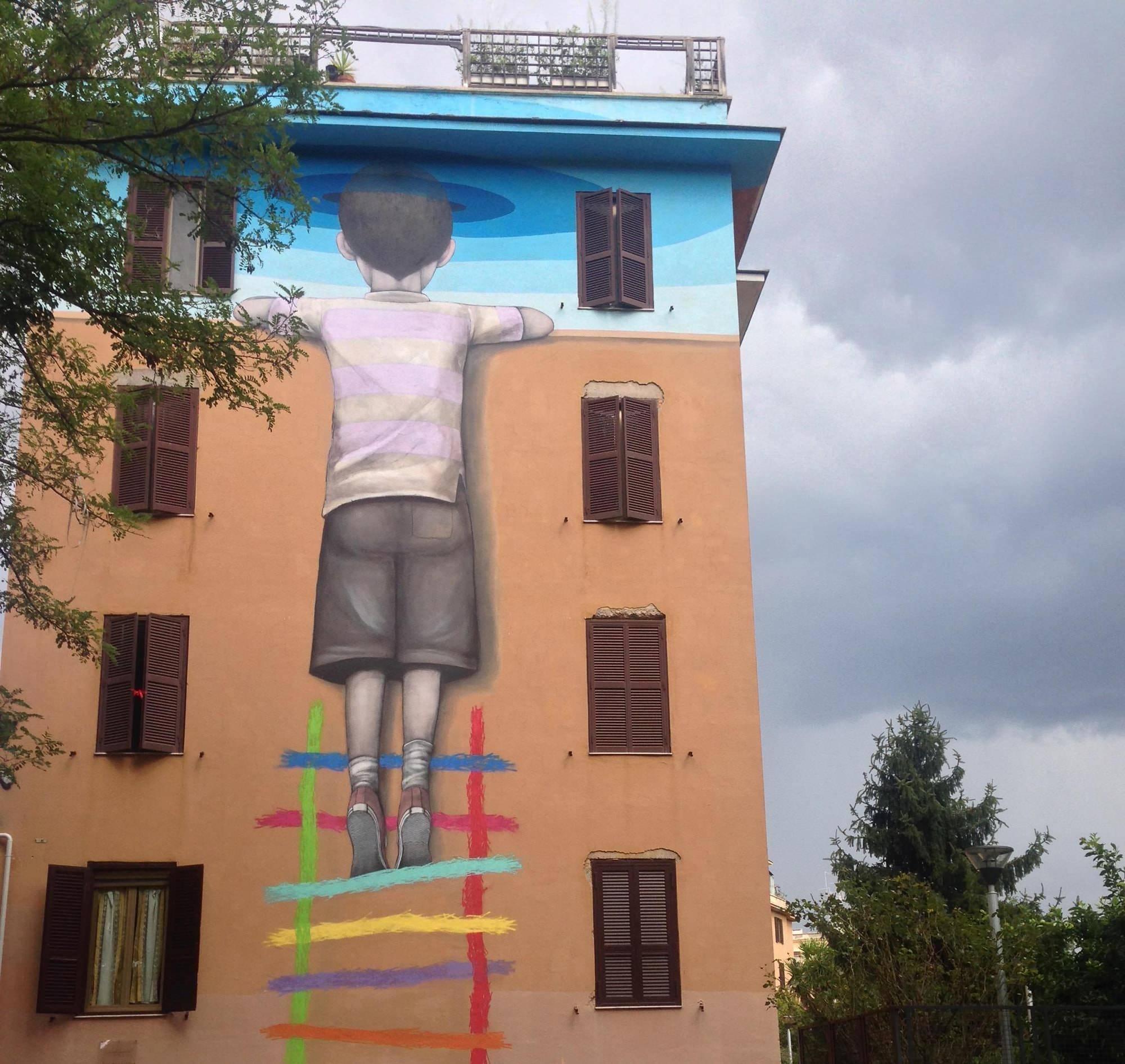 Street Art Tor Marancia 4