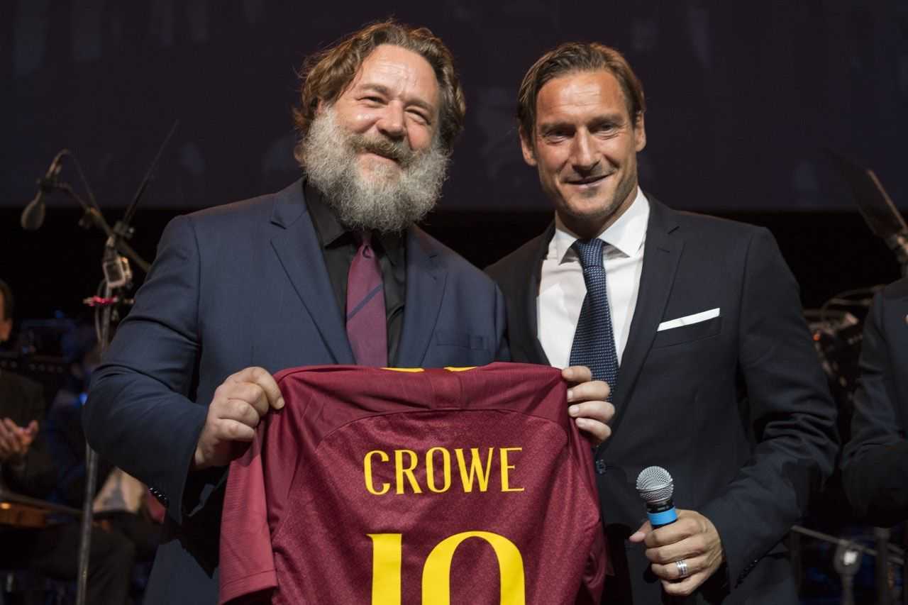 Gladiatore Colosseo Totti Crowe