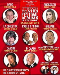 cartellone teatro festival terrazze roma