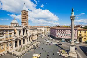 Basilica di Santa Maria Maggiore dall'alto