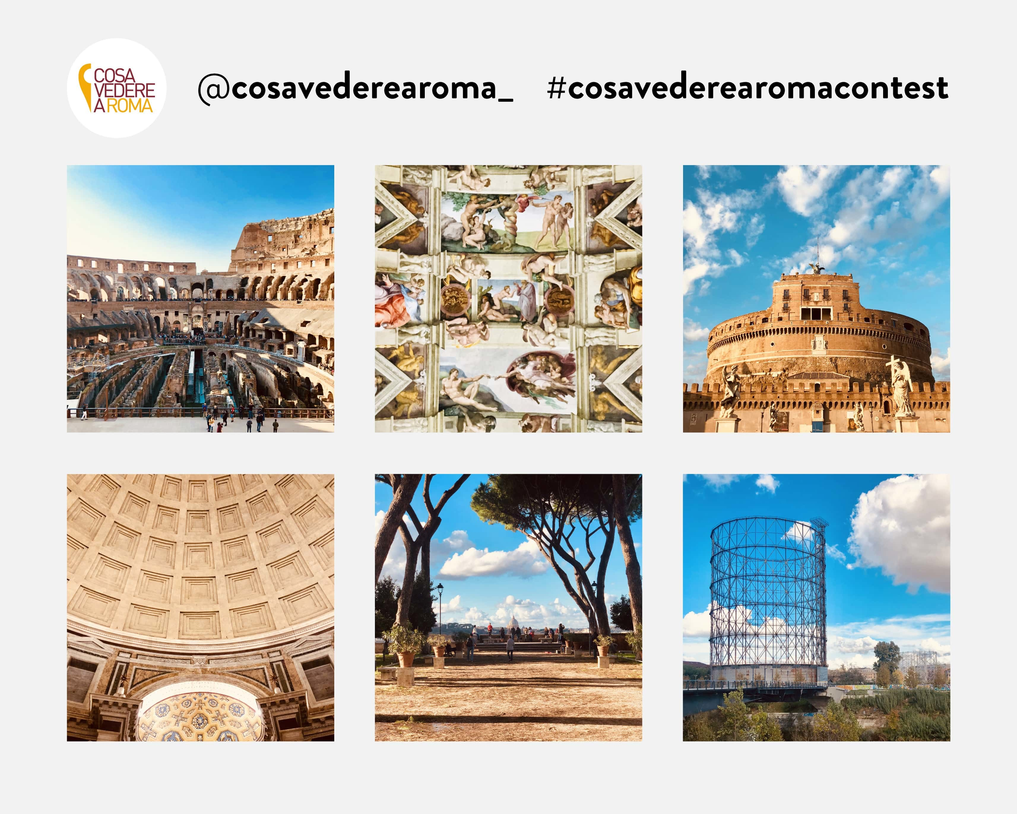 Feed Foto Contest Cosa Vedere a Roma