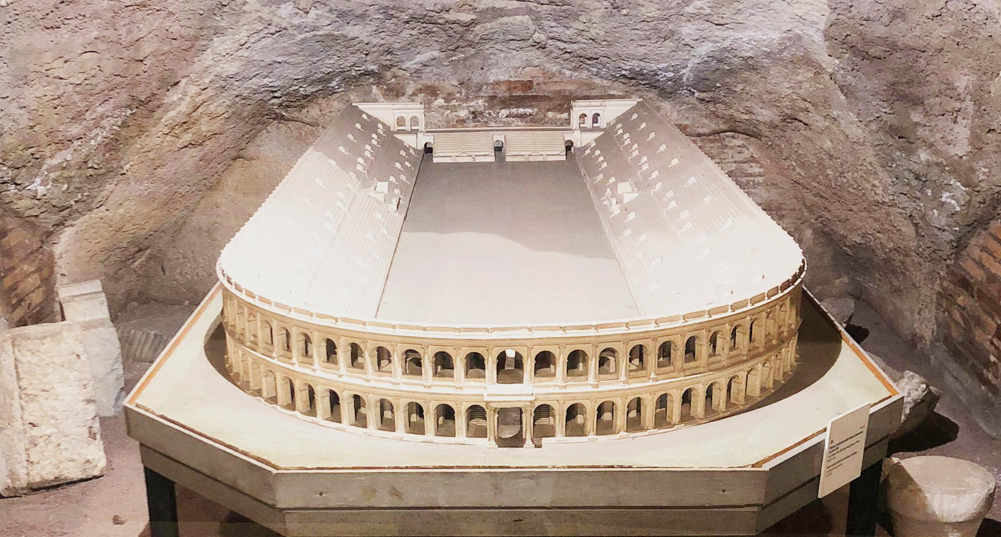 Stadio di Domiziano ricostruzione