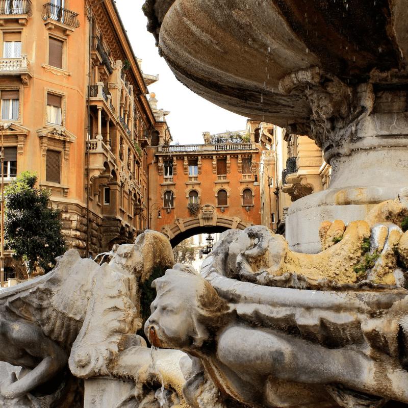 Coppedè Roma nord