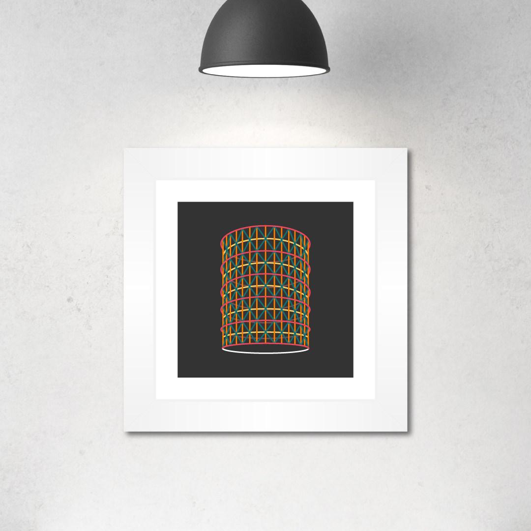 illustrazione con cornice