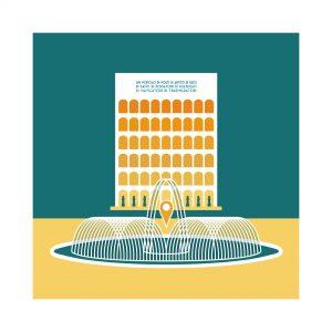 Illustrazione Palazzo della Civiltà